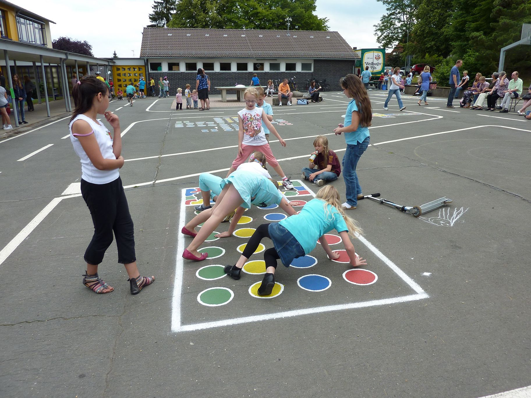 Pausenspiele Grundschule
